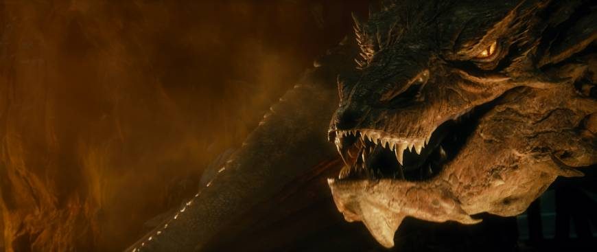 Smaug the dragon to get fans fired up for 'Hobbit' sequel