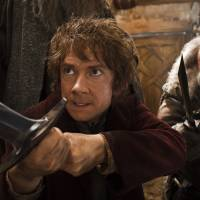 Martin Freeman as Bilbo Baggins.  | © 2014 WARNER BROS. ENTERTAINMENT INC. AND METRO-GOLDWYN-MAYER PICTURES INC.