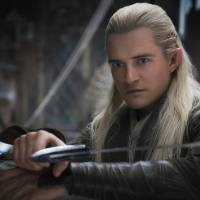 Orlando Bloom as Legolas.  | © 2014 WARNER BROS. ENTERTAINMENT INC. AND METRO-GOLDWYN-MAYER PICTURES INC.