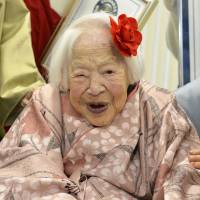 Longevity advice from world's oldest woman: 'Eat a good meal and relax'