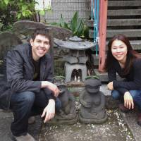 Cool cats: Matt Alt and Hiroko Yoda gladly took up the challenge to translate and localize 'Doraemon' into English. | ALTJAPAN