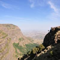 High times: A view of the beautiful, towering Simien Mountains of Ethiopia, in Africa's most spectacular national park. | KENTARO FUKUCHI