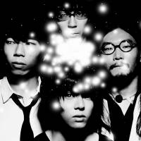 From the end: Owarikara comprises (clockwise from top) Kenta Kawano, Fumihiko Tsuda, Hyouri Takahashi and Taku Kameda.   THE BAND IS KNOWN FOR WILD PERFORMANCES THAT HAVE ENDED UP WITH TSUDA DOING HANDSTANDS ON KAWANO'S DRUM KIT.