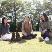 Crunch time: Noriyo Hotta, Reina Kawagoe and Yoshiko Ginno comprise the Nagoya-based trio Crunch.
