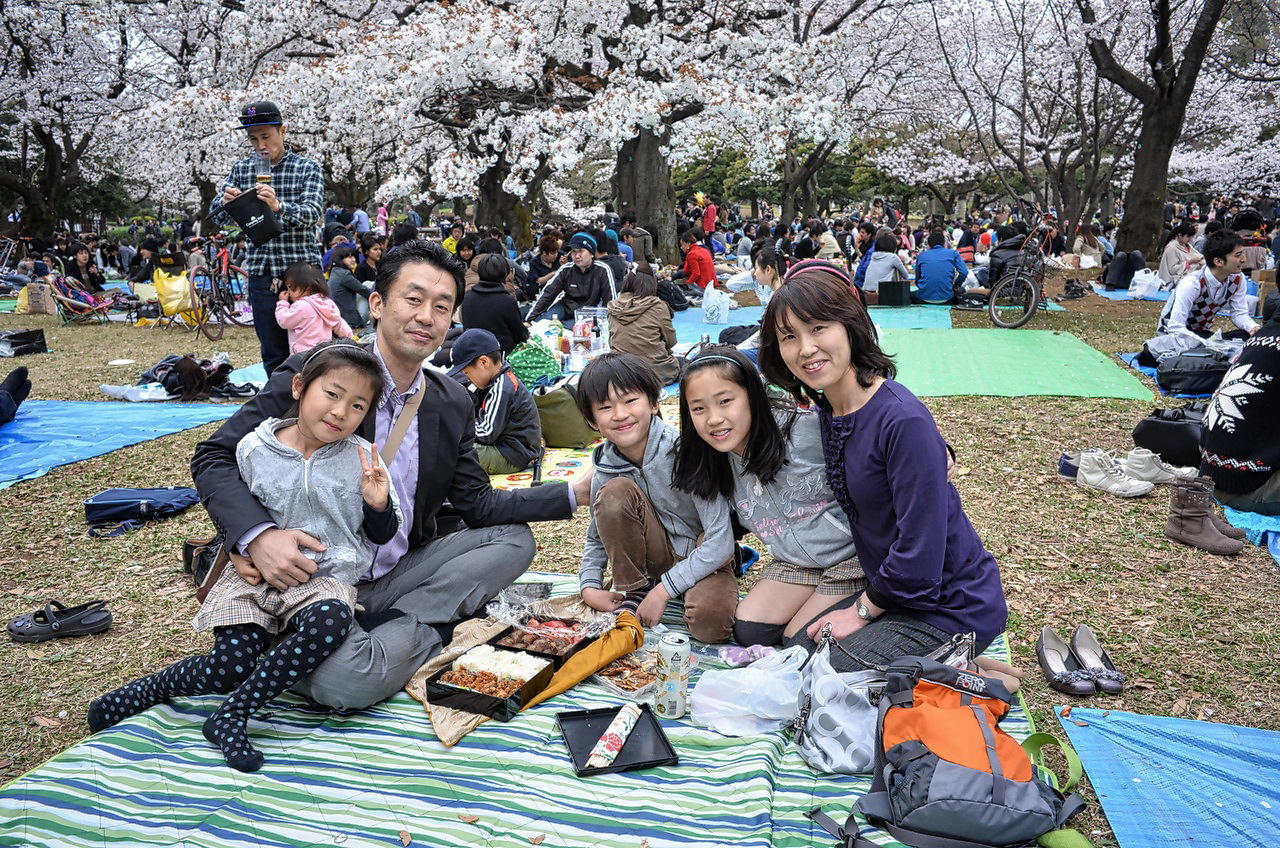 the japanese family