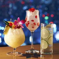 Soft option: Tokyo's Aurora Lounge offers a menu of 45 nonalcoholic cocktails.