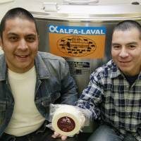 Peruvian cheese makers produce a taste of home