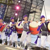 Celebration: The festival has a welcome impact on Okinawa's entertainment industry.