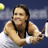 Crowning achievement: American Lindsay Davenport, a three-time Grand Slam champion, has been elected to the International Tennis Hall of Fame. | AP