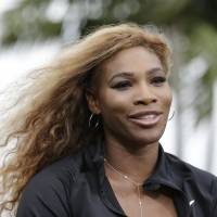 Close to home: Serena Williams is looking forward to defending her title at the Miami Masters tournament this week near her residence in South Florida. | AP