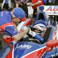 Sato takes pole position for IndyCar opener in St. Petersburg