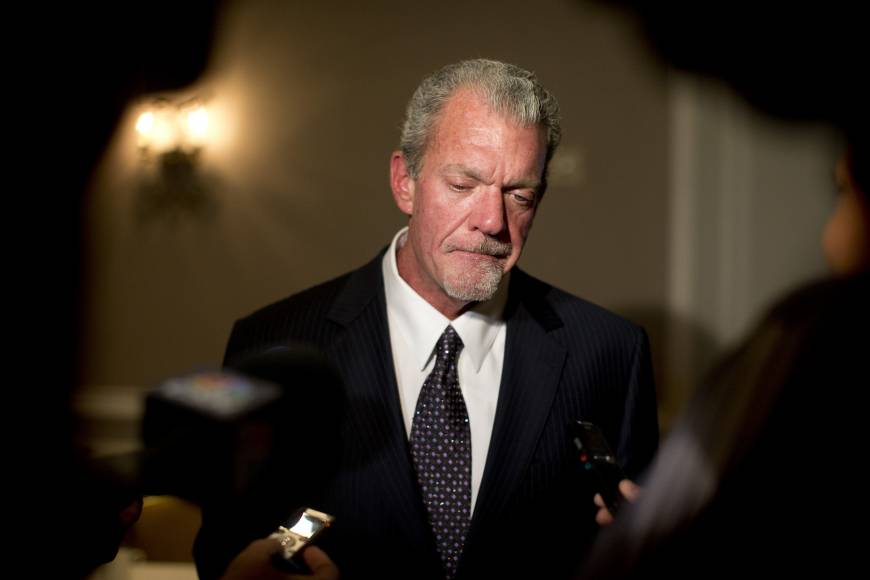 Colts owner Irsay arrested on DUI, drug charges