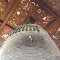 The only interesting feature of note at Toyotomi Shrine is an old bell, which was cast  in 1614 | TED TAYLOR