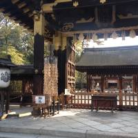 Toyotomi Shrine swallowed Hoko-ji Temple as a consequence of separation of Buddhism from Shinto in the opening days of the Meiji Period. | TED TAYLOR