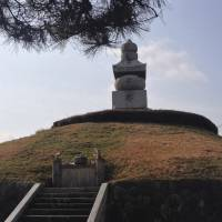 Beneath the hill of Mimizuka are the severed noses of allegedly 38,000 Korean soldiers and civilians killed during Toyotomi Hideyoshi's invasion of Korea. | TED TAYLOR