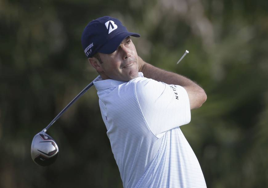 Four tied for lead after brutal day at Doral
