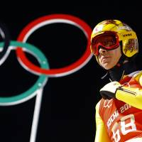 By leaps and bounds: Ski jumper Noriaki Kasai won silver and bronze medals during the Sochi Games and plans to continue his pursuit of Olympic gold. | REUTERS