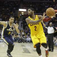 Irving nets first triple-double in win