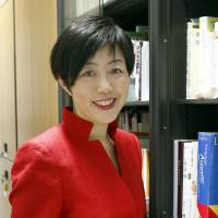 Noriko Arai, a mathematician at the National Institute of Informatics in Tokyo, heads a project to develop a robot that can pass entrance exams for the University of Tokyo.   KYODO