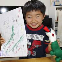 Company's artists turn children's drawings into one-of-a-kind toys