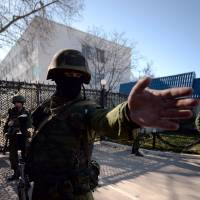 In Crimea, Moscow's reality war in full force
