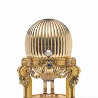 A $20 million Faberge egg found by a scrap metal dealer is seen in this photo provided by London's Wartski antiques dealer Thursday. | REUTERS