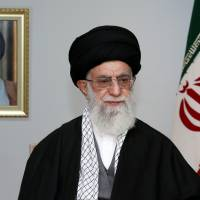 Supreme Leader Ayatollah Ali Khamenei addresses the nation March 20, the eve of Noruz, the Iranian New Year. | AFP-JIJI