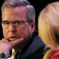 Former Florida Gov. Jeb Bush speaks at the Securities Industry and Financial Markets Association's annual meeting in New York last November. | BLOOMBERG