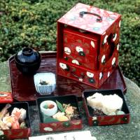 Box of tricks: A jūbako is something like a traditional Japanese obentō (boxed lunch). It's also the name for a special type of mixed kanji reading.   © JNTO