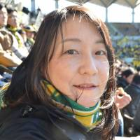 Yumiko Matsu, Accounting manager, 37 (Japanese): Cerezo Osaka for J1.  When I see the names who have joined Cerezo this winter, such as Diego Forlan and Gojko Kacar, it is difficult to say anything else. It is also good that they kept   Yoichiro Kakitani and others. In J2, Jubilo Iwata. I think J2 will see another competitive season but Jubilo are better than all the rest.