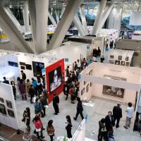 Art mart: Ninety-seven galleries, featuring everything from antiquities to cutting-edge pieces, will participate in Art Fair Tokyo.   MUNETOSHI IWASHITA