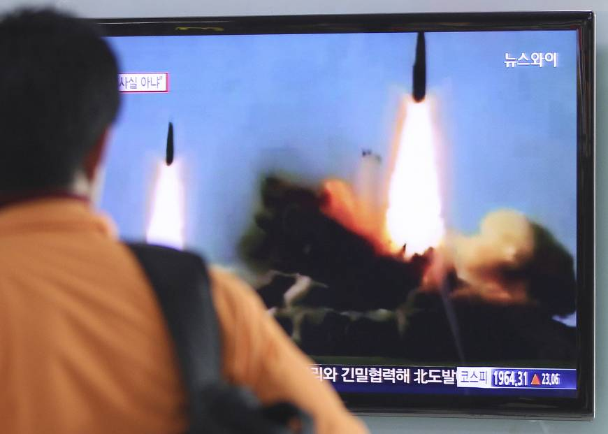 U.N. Security Council to meet Thursday on N. Korea missile launch