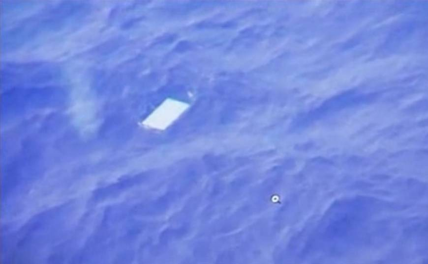 Malaysia Airlines search shifted again, debris quickly spotted