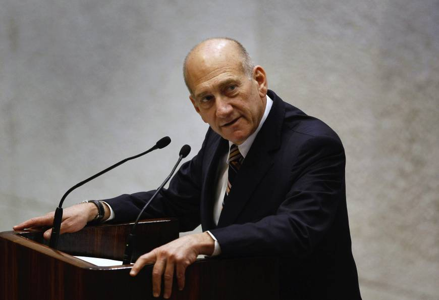 Former Israeli premier Olmert convicted of bribery: report