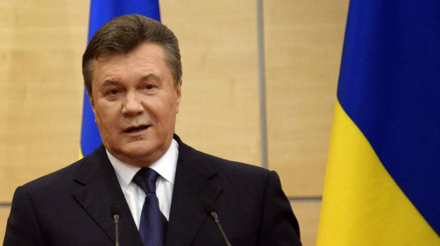 Ousted Ukrainian leader urges referendum on nation's regions
