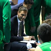 Capable leader: Tokyo Excellence head coach Michael Olson has guided the team to a 29-3 record and a spot in the National Basketball Development League playoffs this weekend. | KAZ NAGATSUKA