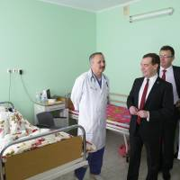 Russia's Medvedev gives pep talk in surprise visit to Crimea