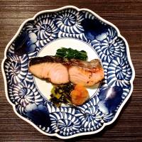 Lightly grilled sawara is featured as a precursor to the main event.  | ROBBIE SWINNERTON