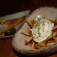 Gohanya Isshin: a diverse menu topped by fries that wax poetic