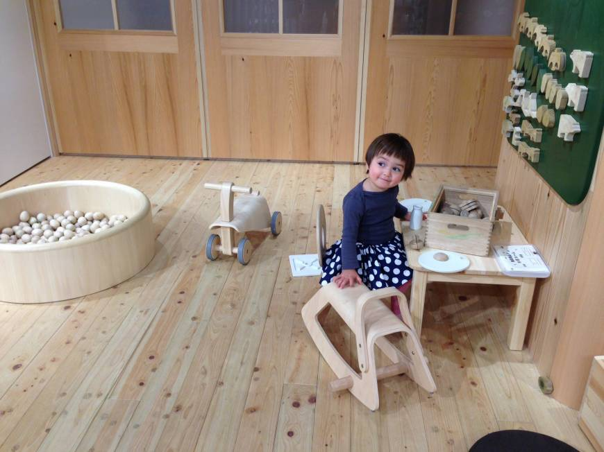 Baby facilities take the tantrums out of shopping