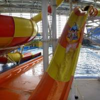 Wet and wild: Spa World in Osaka is a family-friendly mix of children's water park and hot-spring retreat. Water slides and other play equipment are available for kids of all ages, and there is even accommodation for when one day is not enough. | JASON JENKINS