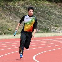 Room to grow: Sprinter Yoshihide Kiryu, an 18-year-old college freshman, already has the second-fastest time in Japanese history in the men's 100-meter race (10.01 seconds). | KAZ NAGATSUKA