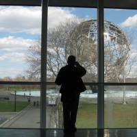 Relics of the past: Several landmarks can be visited by those looking to soak up a little nostalgia on the 1964 New York World's Fair's 50th anniversary in Corona in Queens. Those include the Unisphere, a 12-story steel globe outside the Queens Museum of Art. | AP