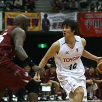 A starting point: Toyota Motors Alvark veteran Yusuke Okada is one of the founding members of the Japan Basketball Players Association. | KAZ NAGATSUKA