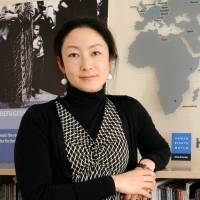 Kanae Doi, founder and head of the Tokyo chapter of Human Rights Watch in New York, poses during an interview at her office in Tokyo's Akasaka district on March 12. | SATOKO KAWASAKI