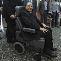 Ailing Algerian leader re-elected
