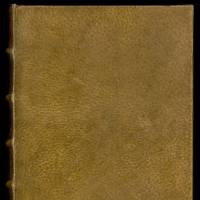 French writer Arsene Houssaye's 19th-century book, 'Des destinees de l'ame,' is thought to be bound in human skin. | REUTERS