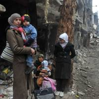 Damascus refugees face starvation