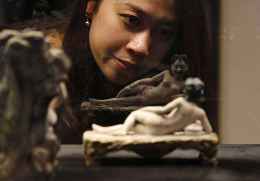 Erotic art offers glimpse of China's lost sexual philosophy