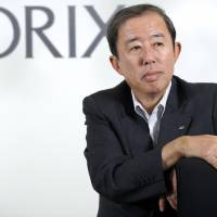 Orix Corp. chief Makoto Inoue poses for a photograph during an interview in Tokyo. | BLOOMBERG
